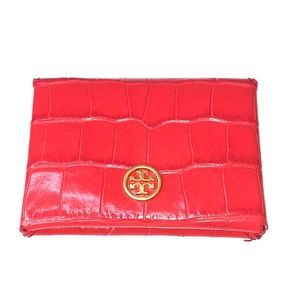 TORY BURCH Parker Embossed Card Case